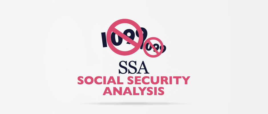 SSA – Social Security Analysis